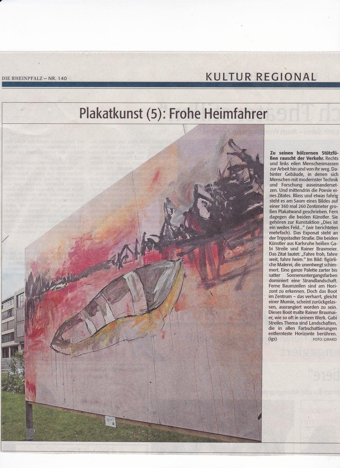 """""""Plakatkunst (5): Frohe Heimfahrer"""""""